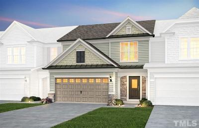 Durham Townhouse For Sale: 1107 Nightshade Drive #SP Lot 1