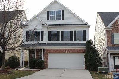 Morrisville Single Family Home Contingent: 112 Station Drive