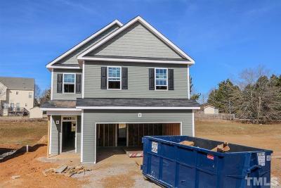 Clayton Single Family Home For Sale: 316 E Webber Lane