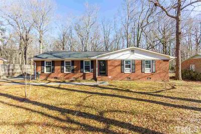 Durham Single Family Home For Sale: 512 Crestview Drive