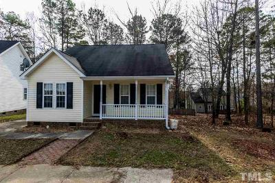 Holly Springs Single Family Home For Sale: 325 Cross Hill Lane