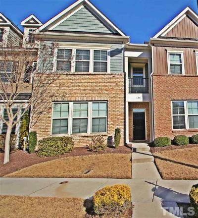 Wake County Townhouse For Sale: 1341 Alemany Street