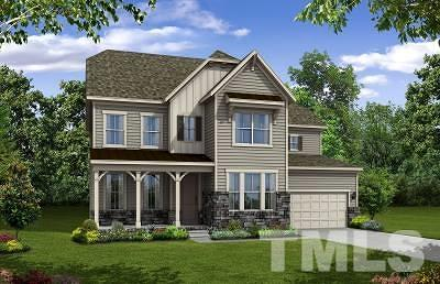 Wake County Single Family Home For Sale: 2616 Winding Branch Trail #Homesite