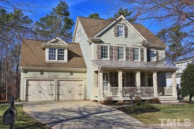 Holly Springs Single Family Home Contingent: 320 Chrismill Lane