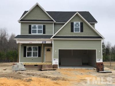 Angier NC Single Family Home Contingent: $269,000