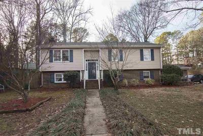 Cary Single Family Home For Sale: 600 Ryan Road