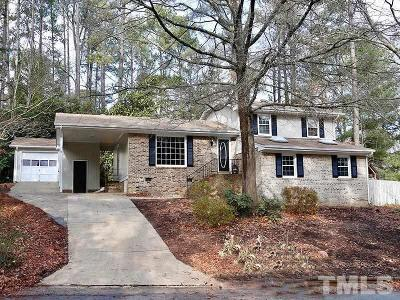 Cary Single Family Home Pending: 1110 Sturdivant Drive