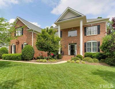 Raleigh Single Family Home Contingent: 9120 Fawn Hill Court