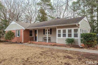 Wake County Single Family Home Contingent: 1008 Dogwood Lane