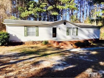 Sampson County Manufactured Home For Sale: 747 Lakewood School Road