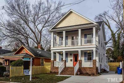Raleigh Single Family Home For Sale: 1505 E Jones Street