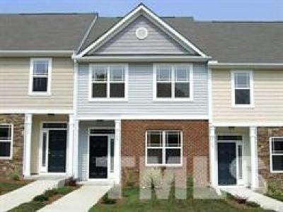 Raleigh Townhouse For Sale: 2142 Sunny Cove Drive