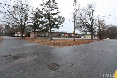 Johnston County Commercial For Sale: 1105 W Anderson Street