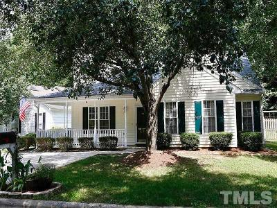 Raleigh Single Family Home For Sale: 5404 Neuse Run Court