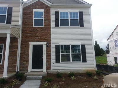 Durham Townhouse For Sale: 1304 Cozart Street #216