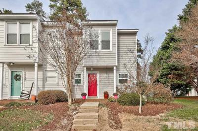 Raleigh Townhouse For Sale: 4470 Roller Court