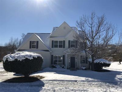 Holly Springs Single Family Home Contingent: 501 Blooming Meadows Road