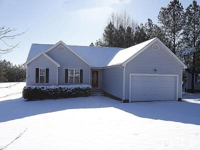 Youngsville Single Family Home Contingent: 75 Spencers Gate Drive
