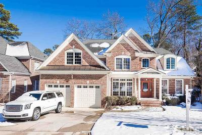 Raleigh Single Family Home For Sale: 5604 Bennettwood Court