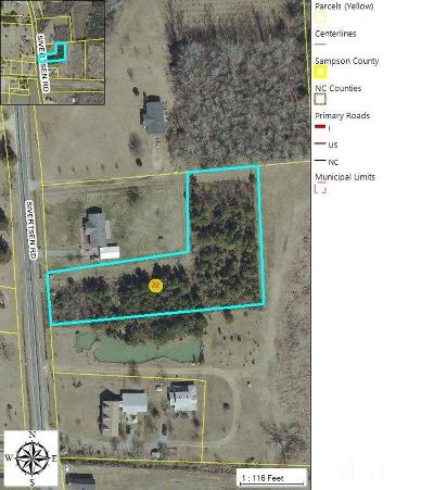 Sampson County Residential Lots & Land For Sale: 1631 Sivertson Road