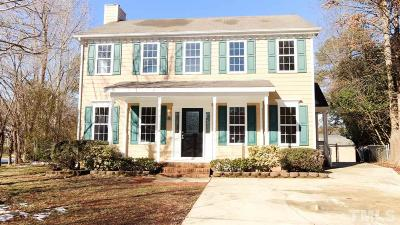 Wake County Single Family Home For Sale: 101 Open Hearth Court