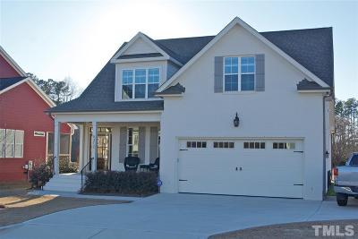 Holly Springs Single Family Home For Sale: 5312 Whitesboro Court