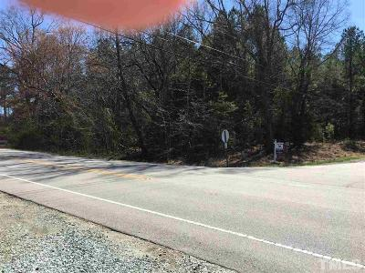 Durham County Residential Lots & Land For Sale: 7791 Guess Road