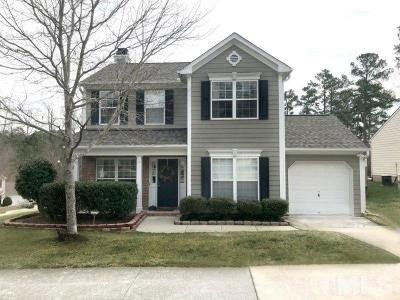 Durham Single Family Home Contingent: 714 Spring Meadow Drive