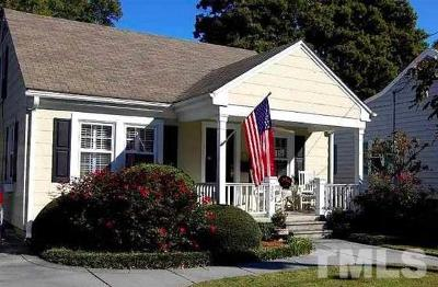 Wake County Single Family Home Pending: 323 Pershing Road