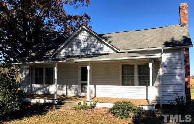 Wake County Single Family Home For Sale: 1521 Salem Church Road