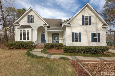 Harnett County Single Family Home Contingent: 259 Vanstore Drive
