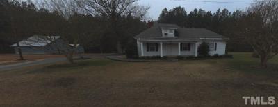 Apex Single Family Home For Sale: 2093 Farrington Road