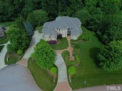 Wake County Single Family Home For Sale: 1109 Stone Kirk Drive