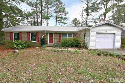 Durham County Single Family Home For Sale: 5405 Pelham Road