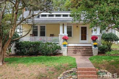 Raleigh Single Family Home For Sale: 506 Devereux Street