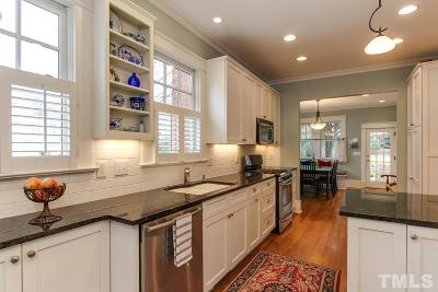 Raleigh Single Family Home Contingent: 314 E Park Drive