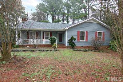 Apex Single Family Home For Sale: 1103 Indian Trail