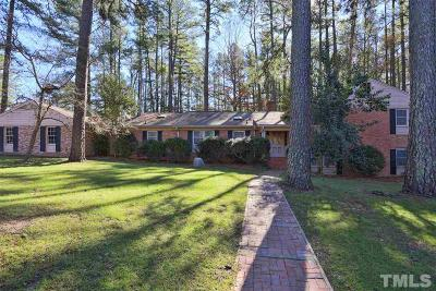 Durham Single Family Home Contingent: 4044 Nottaway Road