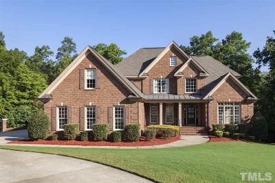 Holly Springs Single Family Home Contingent: 417 Settlecroft Lane