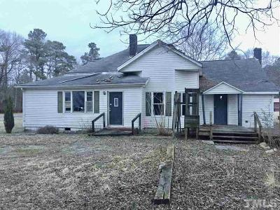 Sampson County Single Family Home For Sale: 3121 Maxwell Road