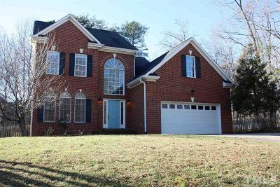 Mebane Single Family Home Contingent: 309 Great Smokey Mountain Drive