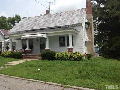 Louisburg Single Family Home Pending: 205 Spring Street