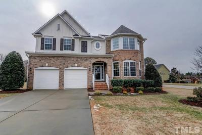 Apex Single Family Home Contingent: 2000 Wolfs Bane Drive