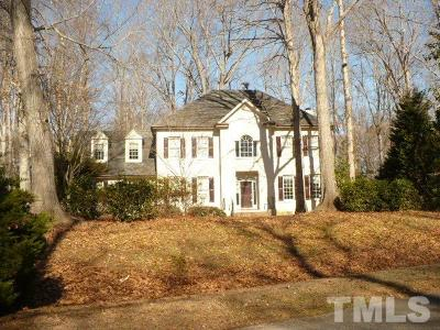 Raleigh Single Family Home Pending: 10629 Tredwood Drive