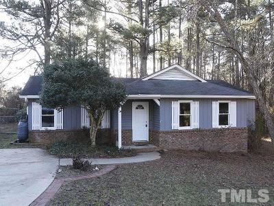 Wake Forest Single Family Home Contingent: 109 Cardinal Drive