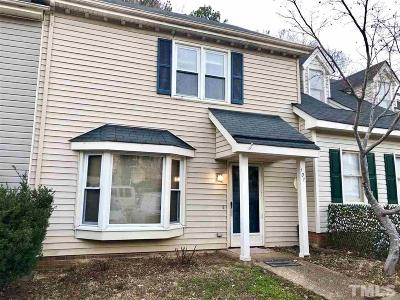 Wake County Townhouse Contingent: 107 Towne View Trail