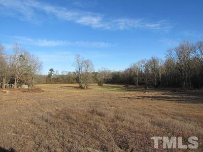 Wake County Residential Lots & Land For Sale: Pleasants Road