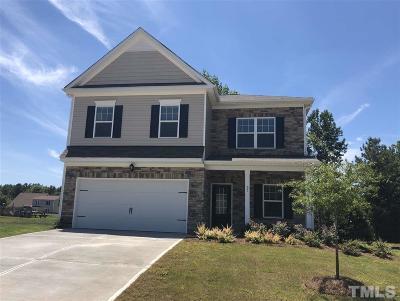 Louisburg Single Family Home Pending: 95 Post Oak Drive