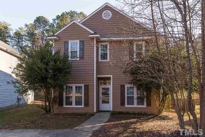 Raleigh Single Family Home Contingent: 6012 River Lake Circle