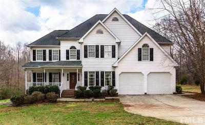 Wake Forest Single Family Home For Sale: 7100 Incline Drive